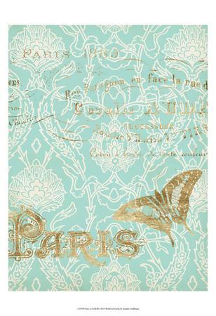Paris in Gold III