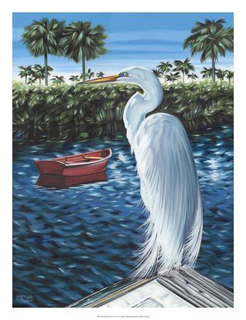 Peaceful Heron II