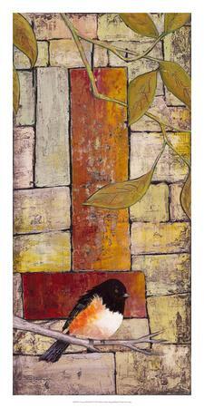 Textured Bird Panel I