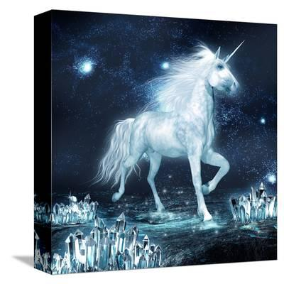 Unicorn Crystal Star Field