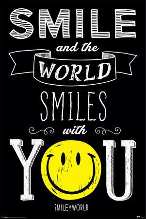 Smiley- World Smiles With You