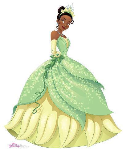 Princess Tiana Face: Disney Princess Friendship Adventures Cardboard