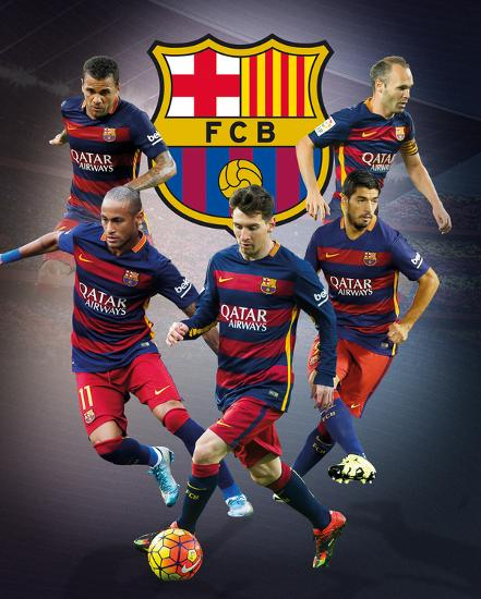 Barcelona Star Players Prints At Allposters Com