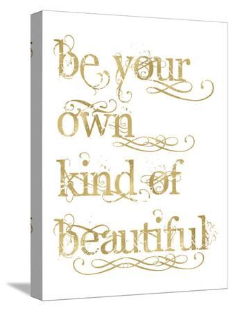 Be Own Beautiful Golden White