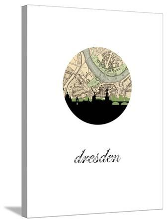 Dresden Map Skyline