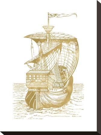 Ship 1 Golden White