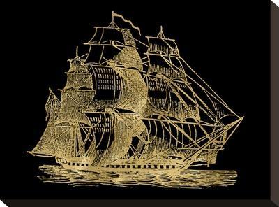 Ship 3 Golden Black