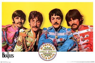 The Beatles- Sgt. Peppers Album Inner Gatefold