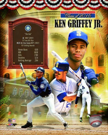 c29f5888f2 Ken Griffey Jr. MLB Hall of Fame Legends Composite Photo at AllPosters.com