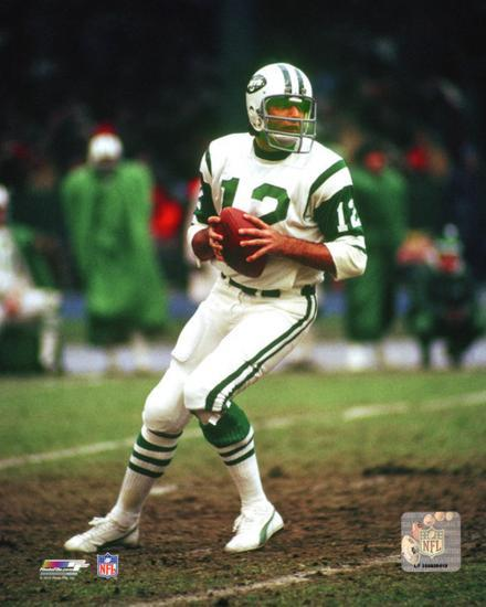 Image result for joe namath game action  pics