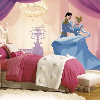 Disney Princess Cinderella So This Is Love XL Chair Rail Prepasted Mural