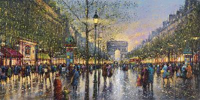 Paris Champs Elysees - Detail