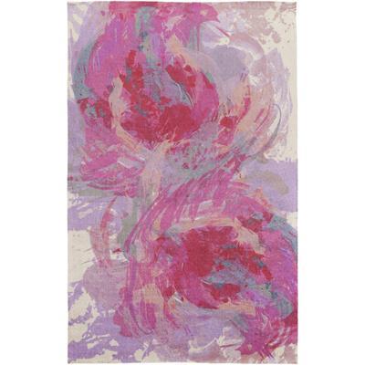 "Felicity Area Rug - Hot Pink/Lavender 5' x 7'6"""