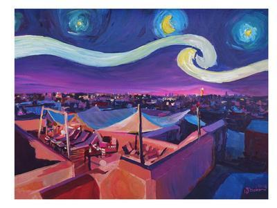 Starry Night In Marrakech