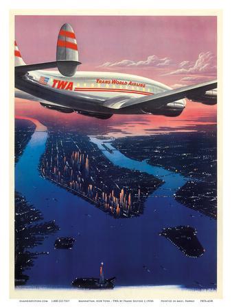 Manhattan, New York USA - TWA (Trans World Airlines)