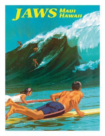 Jaws - Maui, Hawaii - Big Wave Surfing