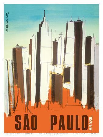 Sao Paulo - Brasil (Brazil) - Skyline