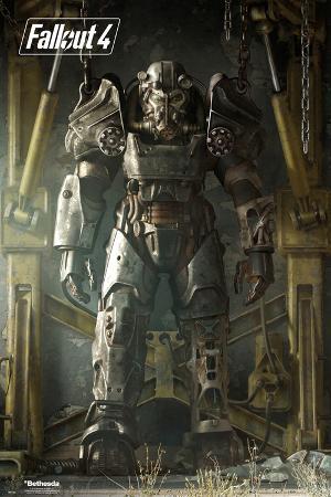 Fallout 4- Key Art Poster