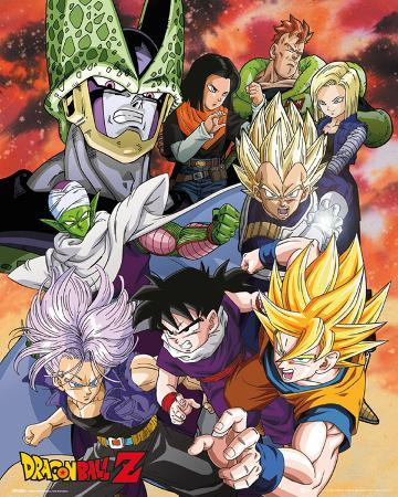 Dragonball Z- Cell Saga Cast