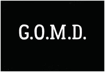 G.O.M.D White Type