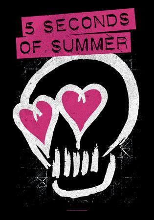 5 Seconds Of Summer- Skull Logo