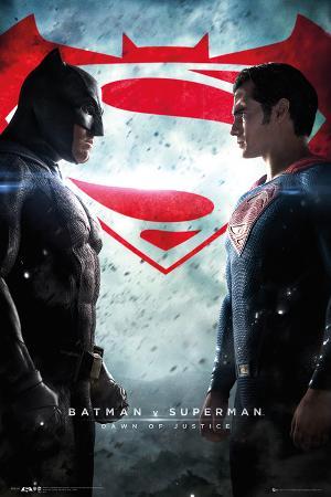 Batman Vs. Superman- One Sheet