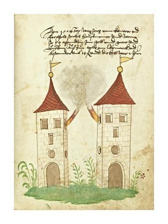 Civic festival of the Nuremberg Schembartlauf - Towers