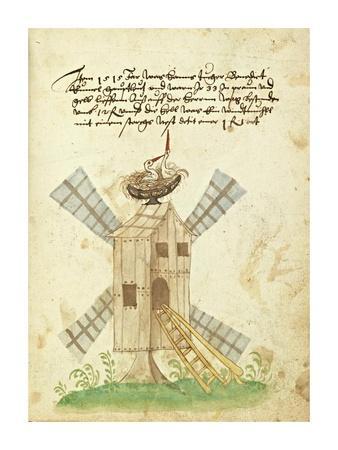 Civic festival of the Nuremberg Schembartlauf - Windmill