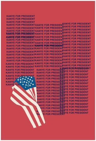Kanye For Prez (Red)