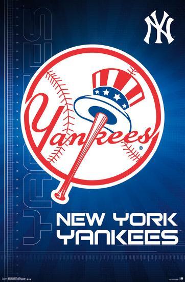 New York Yankees Logo 2016 Photo At Allposters Com