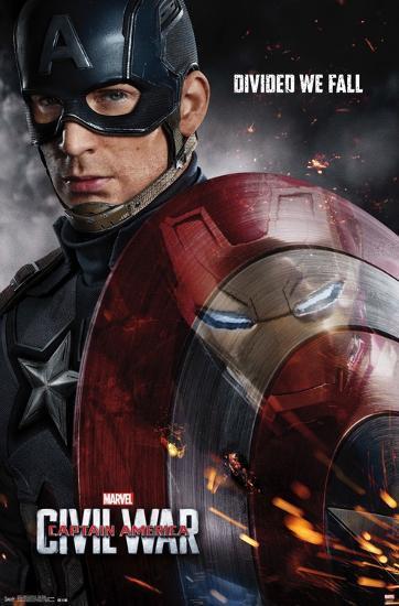 Captain America Civil War One Sheet Prints At Allposters Com