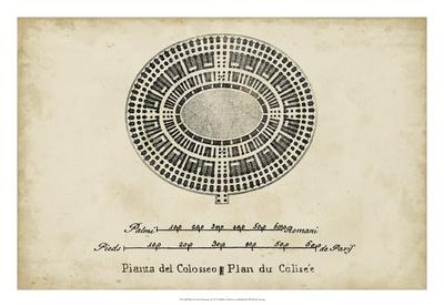 Plan for the Colosseum