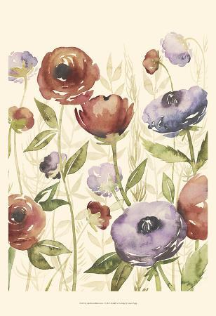 Jeweltoned Blossoms I
