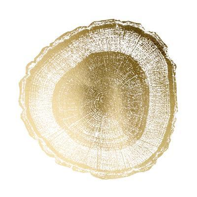Gold Foil Tree Ring I