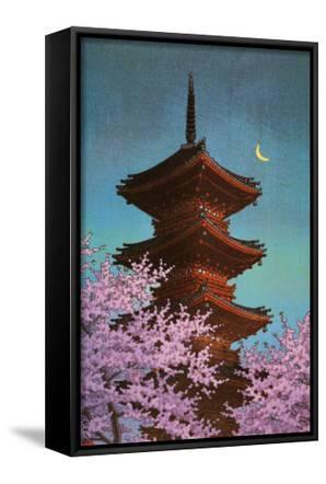Pagoda in Moonlight