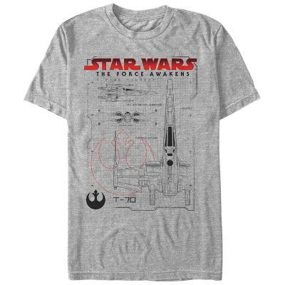 Star Wars The Force Awakens- T-70 Blueprints