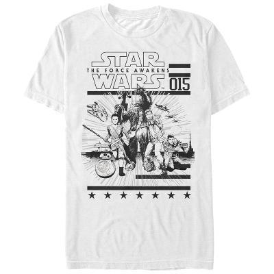 Star Wars The Force Awakens- Heroes In Black & White
