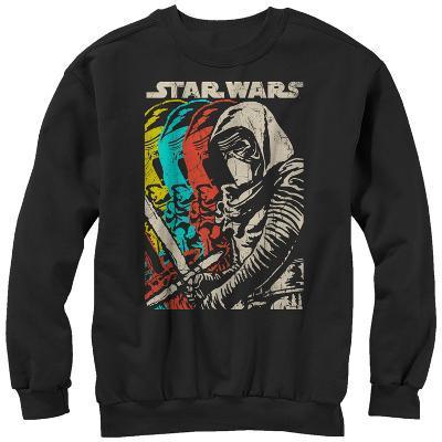 Crewneck Sweatshirt: Star Wars The Force Awakens- Color Scal Ren