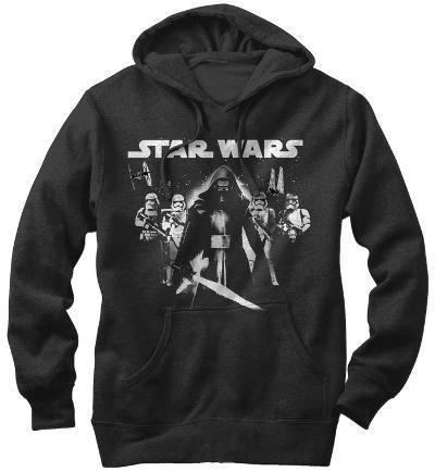 Hoodie: Star Wars The Force Awakens- Kylo Ren In The Lead