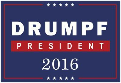 Drumpf For President 2016