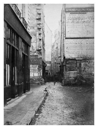 Paris, 1860-1870 - Rue Tirechappe