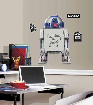 Star Wars Classic R2-D2 Dry Erase Peel and Stick Giant Wall Decals