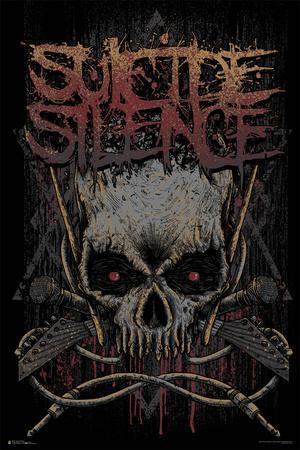 Suicide Silence- Gothic Jolly Rodger