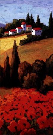 Tuscan Poppies Panel II