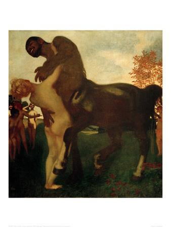 Centaur and Nymph, 1895