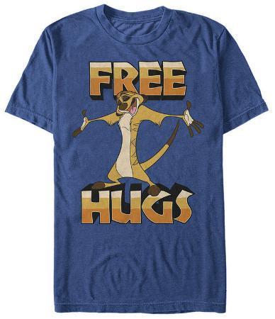 Lion King- Timon Hugs