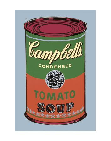 Campbell's Soup Can, 1965 (Green and Red)