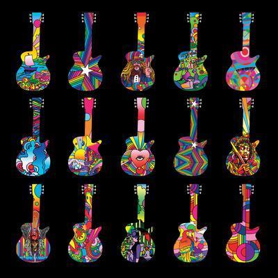 Howie Green- Pop Art Guitars