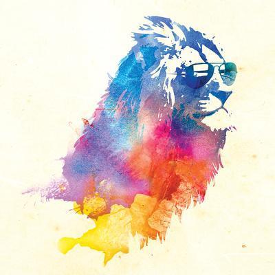 Robert Farkas- Lion With Glasses