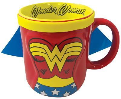 DC Wonder Woman Caped 20 Oz Mug